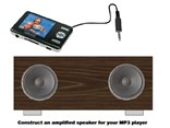 Amplificador 2x5W para reproductor MP3