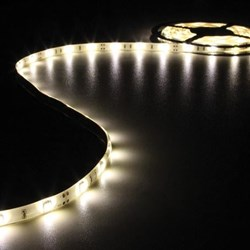 CINTA CON LEDs FLEXIBLE - COLOR BLANCO CÁLIDO - 150 LEDs - 5m - 12V - Imagen 1