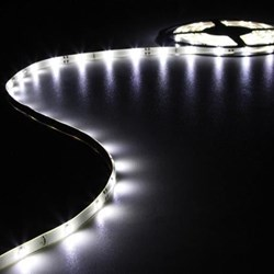 CINTA DE LEDs FLEXIBLE - COLOR BLANCO CÁLIDO - 150 LEDs - 5m - 12V - Imagen 1