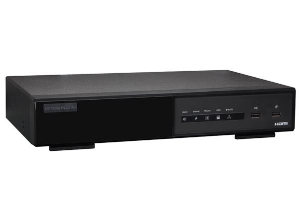 GRABADOR DE VÍDEO EN RED IP - HD - 4 CANALES - EAGLE EYES - ETS - SWITCH POE - NAS - 1.3 MP - Imagen 1