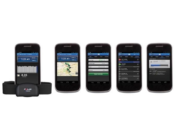 POLAR WEARLINK® + TRANSMISOR CON BLUETOOTH® PARA ANDROID Y SYMBIAN OS